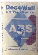 Гипсовая штукатурка ABS SIVA
